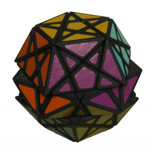 Mini Starminx dodecahedron Rubiks Cube variation very difficult custom Rubiks cube type twisty puzzle gift