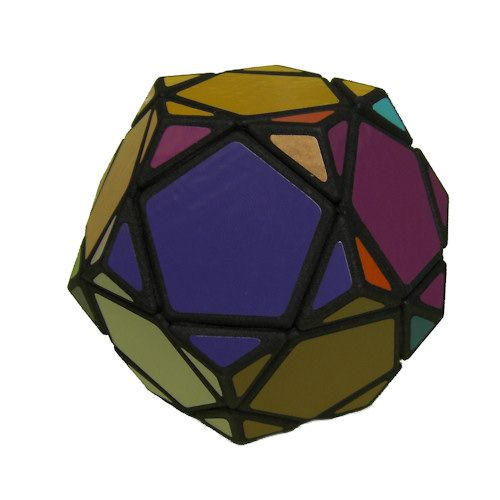 Mini Pentultimate dodecahedron Rubiks Cube variation very difficult custom Rubiks cube type twisty puzzle gift
