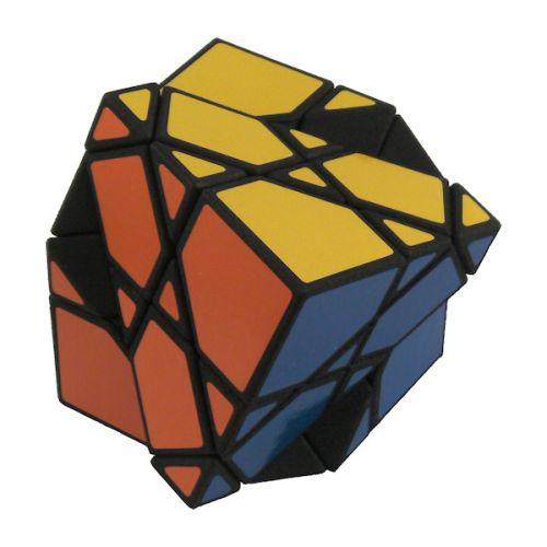 Offset Skewb 2x2x2 puzzle Rubiks Cube variation very difficult custom Rubiks cube type twisty puzzle gift