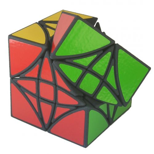 Curvy Copter II very difficult custom Rubiks cube type twisty puzzle like the Mefferts Helicopter Cube by Adam G. Cowan