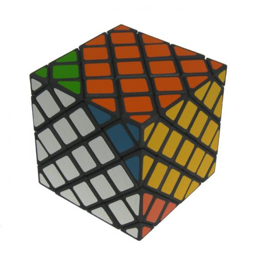 Compy Skewb very difficult custom Rubiks cube type twisty puzzle a combination of the Compy Cube/shallow cut Dino Cube and Mefferts Skewb