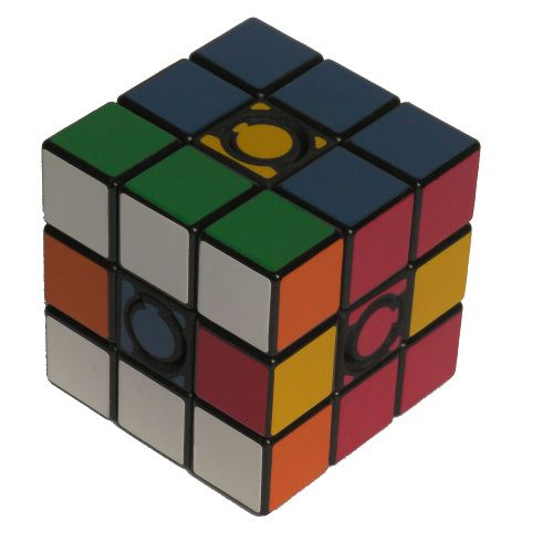 Constrained Cube Rubiks Cube variation very difficult custom Rubiks cube type twisty puzzle gift