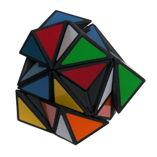 Helicopter Skewb Rubiks Cube variation very difficult custom Rubiks cube type twisty puzzle gift