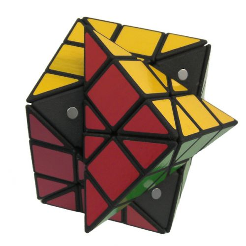 3x3x3 Dino Rubiks Cube variation very difficult custom Rubiks cube type twisty puzzle gift